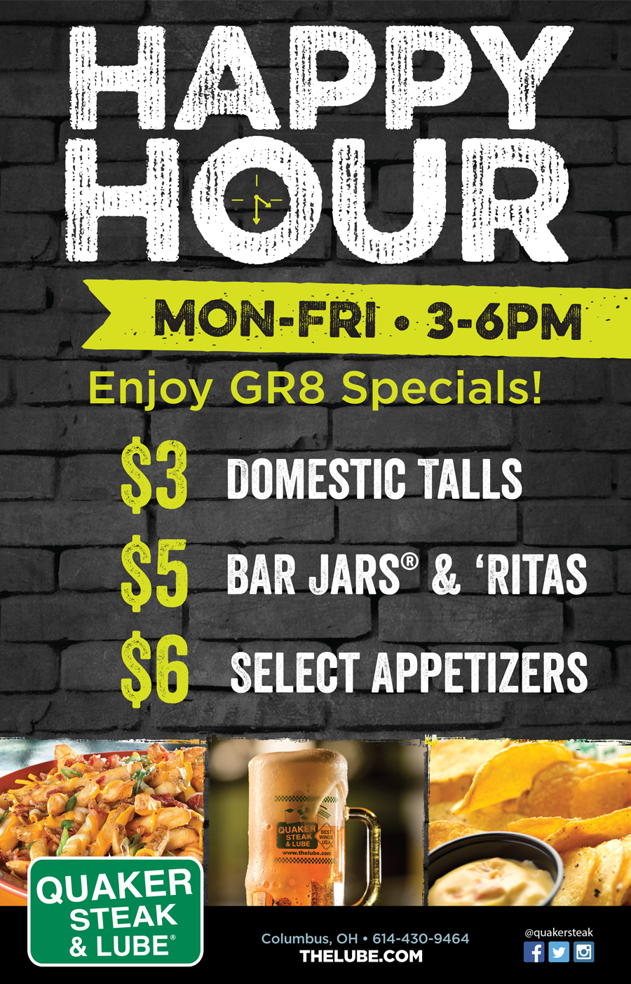 Chicago Happy Hour Food Specials