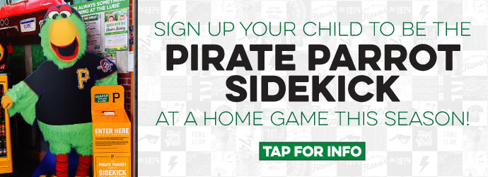 Quaker Steak & Lube Presents Pirate Parrot Sidekick!