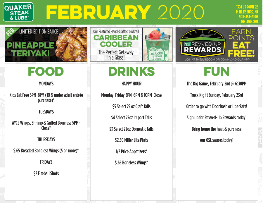 Promotions Calendar